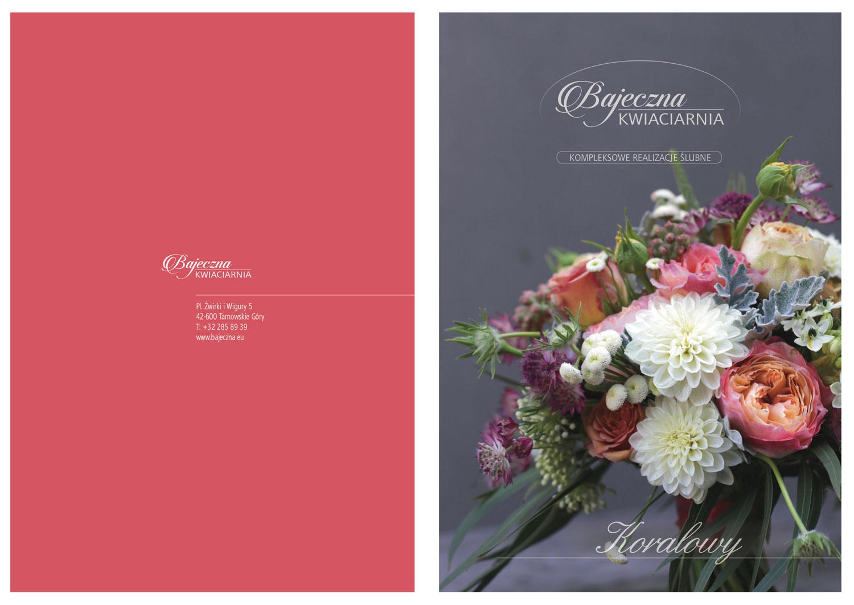 projektowanie logo firmy i identyfikacji wizualnej dla kwiaciarni z Tarnowskich Gór
